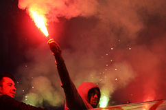 Ultras light flares Royalty Free Stock Images