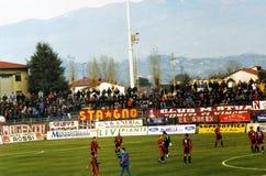 Ultras Livorno Foto de archivo