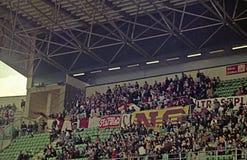 Ultras in palermo Stock Image