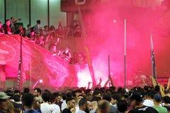 Ultras protest Arkivfoto