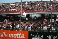 Salernitana ultras Stock Image