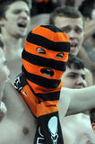 Ultras of Shakhtar Royalty Free Stock Images