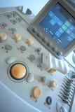 Ultraschallscanner lizenzfreies stockbild