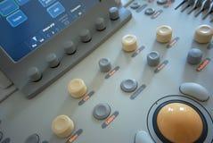 Ultraschallscanner stockbild