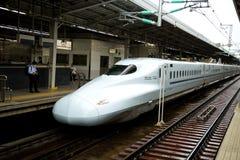 Ultrasnelle trein Royalty-vrije Stock Fotografie