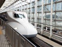 Ultrasnelle trein, Shinkansen Stock Fotografie
