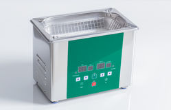 Ultrasonic cleaner for ultrasonic cleaning Royalty Free Stock Image