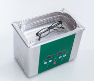 Ultrasonic cleaner for ultrasonic cleaning Stock Photography