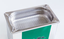 Ultrasonic cleaner for ultrasonic cleaning Stock Images