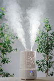 Ultrasonic humidifier in the house. Humidification. Device Royalty Free Stock Photos