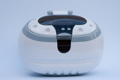 Ultrasonic machine. Ultrasonic cleaner for optics and juwels Stock Images