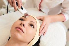 Ultrasonic Skin Scrubber Stock Images