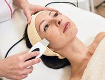 Ultrasonic Skin Scrubber Stock Photo