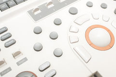 Ultrasonography machine in hospital Royalty Free Stock Image