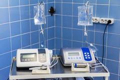Ultrasoon chirurgisch optisch systeem Stock Afbeeldingen