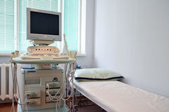 Ultrasound apparatus Royalty Free Stock Image