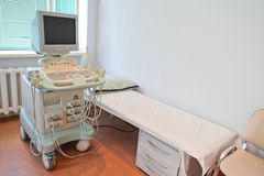Ultrasound apparatus Stock Photos