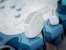 Ultrasound equipment. Diagnostics. Stock Image