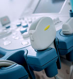 Ultrasound equipment. Diagnostics. Royalty Free Stock Images