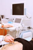 Ultrasound examination Royalty Free Stock Images
