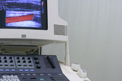 Ultrasound machine royalty free stock images