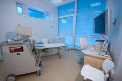 ULTRASOUND MEDICAL ROOM I. Stock Image