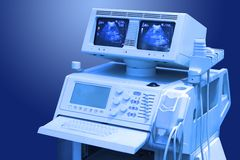 Ultrasound medical scanner Royalty Free Stock Photography