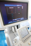 Ultrasound scanner Stock Photo