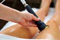 Ultrasounds skin beauty treatment Stock Photography