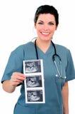 Ultrasuono Fotografia Stock