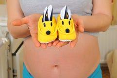 Ultrasuono di gravidanza Immagine Stock Libera da Diritti