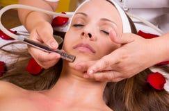 Ultrasuono e trattamento del laser. Fotografia Stock Libera da Diritti