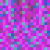 Ultraviolet background of squares - vector eps10.  Royalty Free Stock Photo