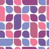 Ultraviolet geometrisch naadloos patroon Royalty-vrije Stock Afbeelding