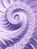 Ultra Violet Trendy Color of the year 2018. Vertical Purple Luxe Glossy Vortex Spiral. Ultraviolet Glittering Spiral Purple Luxury Vortex Ultra Violet Trendy Stock Images
