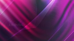 Ultraviolet neon abstract wavy background royalty free illustration