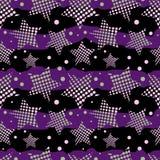 Ultraviolet stars background Royalty-vrije Illustratie