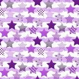 Ultraviolet stars background Stock Illustratie