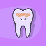 Ultraviolet teeth whitening concept. Royalty Free Stock Image