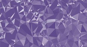 Ultraviolet triangle background pattern vector Stock Afbeeldingen