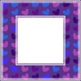 Ultraviolett border-04 Arkivbilder