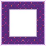 Ultraviolett border-08 Royaltyfri Foto