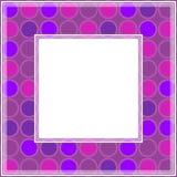 Ultraviolett border-07 Arkivfoton