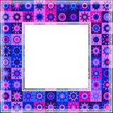 Ultraviolett border-16 Royaltyfria Foton