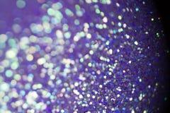 Ultraviolett gnistrande- och stjärnabakgrund ljust och festligt arkivbild