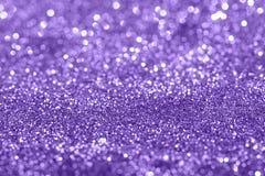 Ultraviolett mousserande bakgrund för glamour Arkivbilder