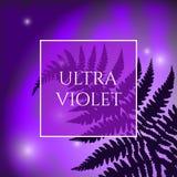 Ultraviolette achtergrond vector illustratie