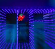 Ultraviolette Gezoemexplosie Royalty-vrije Stock Afbeelding