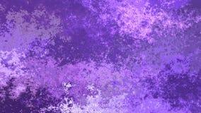 Ultraviolette und helle Lavendelpurpurfarbe des lebhaften befleckten nahtlosen Schleifen-Videos des Hintergrundes - Aquarelleffek stock footage