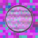 Ultravioletter Hintergrund für die Fahne, von den Quadraten - vector eps10 Stockfotos
